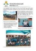 Besuch der Schulen in Windhoek, Rehoboth und Swakopmund - Seite 3