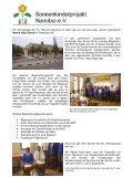 Besuch der Schulen in Windhoek, Rehoboth und Swakopmund - Seite 4