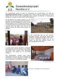 Besuch der Schulen in Windhoek, Rehoboth und Swakopmund - Seite 5