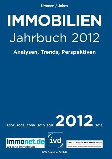 immobilien jahrbuch 2012 schick