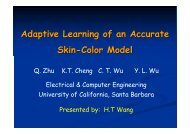 Adaptive Learning of an Accurate Skin-Color Model
