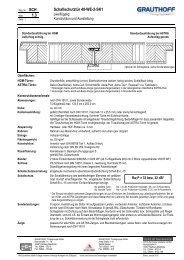 1.3 Schallschutztür 40-WE-2-SK1 - Grauthoff Türengruppe