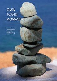 """eBook """"Zur Ruhe kommen"""" (Entspannungs-Zitate) - Tom Glasauer"""