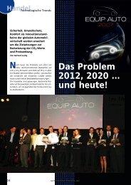 Das Problem 2012, 2020 ... und heute!