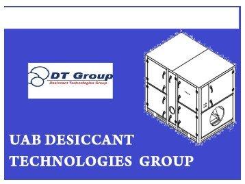 Desiccant dehumidifier MDC4000 from Destech.eu
