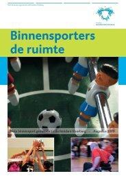 Nota binnensport - Gemeente Leidschendam-Voorburg