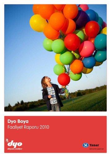 2010 Yılı Faaliyet Raporu - Dyo