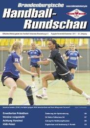 Brandenburgische Handball-Rundschau - Elsterwerdaer SV 94