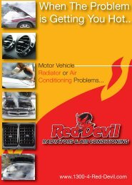 When The Problem is Getting You Hot.. - Red Devil Radiators & Air ...