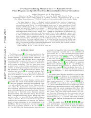 Two Superconducting Phases in the d=3 Hubbard Model - myWeb