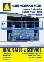 HIRE, SALES & SERVICE - Aluminium Scaffolds & Active ...