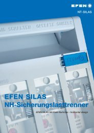 EFEN SILAS NH Fuse-Switches