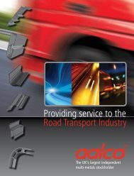 Providing service to the Road Transport Industry - Aalco