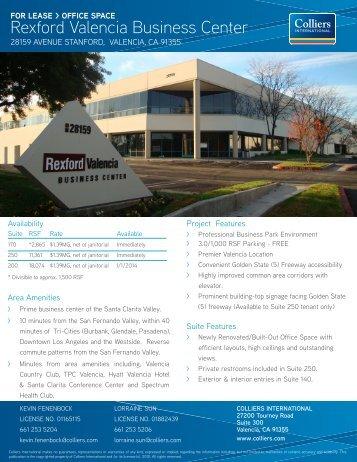 Rexford Valencia Business Center