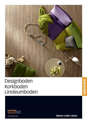Meister Designboden Korkboden Linoleumboden