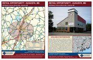 retail opportunity - augusta, me retail opportunity -augusta, me