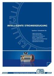 intelligente stromerzeugung - gts generator. technik. systeme.