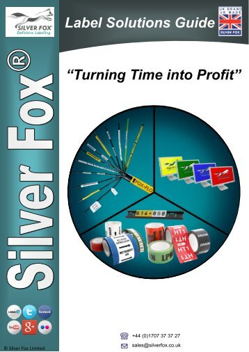 "Label Solutions Guide ""Turning Time into Profit"""