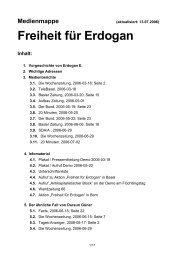 Freiheit für Erdogan