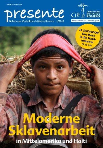 Moderne Sklavenarbeit