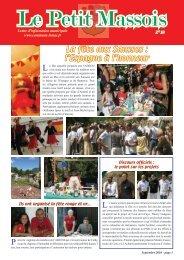 Le Petit Massois Septembre 2010 - Commune-lemas.fr