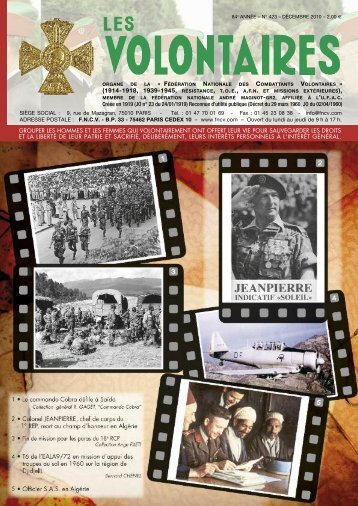 Journée du souvenir - Jeudi 21 octobre 2010 - fncv.com