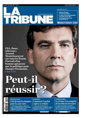 PSA, Doux, télécoms : Arnaud Montebourg est sur tous ... - La Tribune