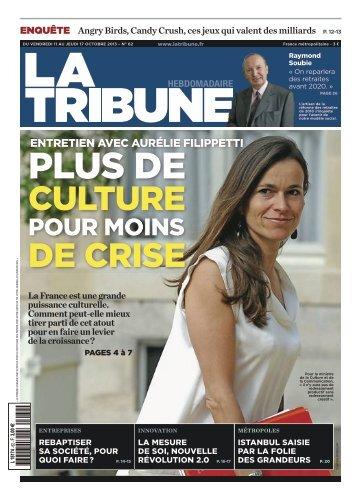 POUR MOINS - La Tribune