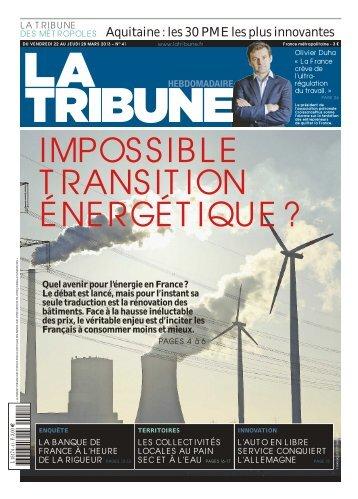 Aquitaine : les 30 PME les plus innovantes - La Tribune