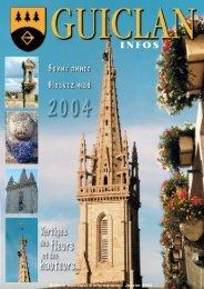 Janvier 2004 - Commune de Guiclan