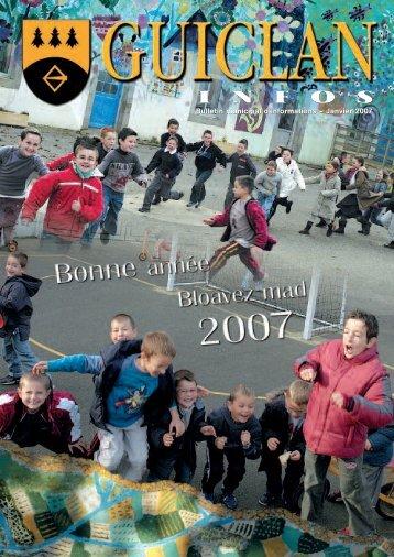 Janvier 2007 - Commune de Guiclan
