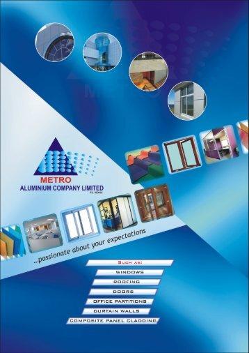 Download Metro Aluminium Profile - Metro Aluminium Nigeria ...