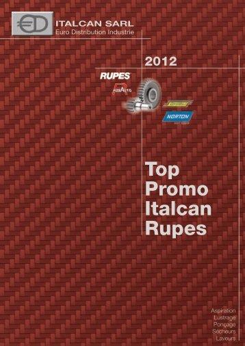 Voir le catalogue promotion 2012 au format PDF - ITALCAN