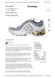 The Bionic Running Shoe Seite 1 von 4 The New York Times ...
