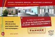 Carte postale contacts CMA