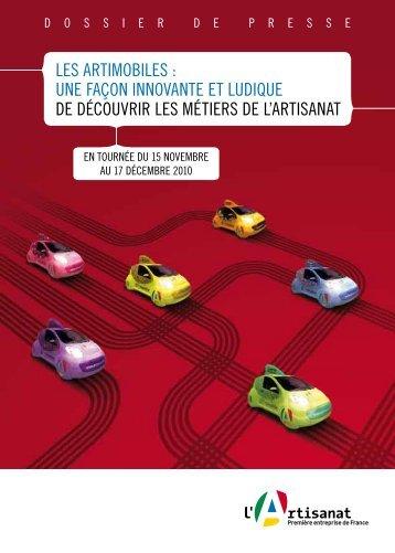 Les artImobILes : Une Façon Innovante et LUDIqUe De DÉcoUvrIr ...