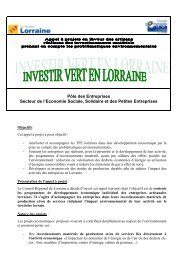 Pôle des Entreprises Secteur de l'Economie Sociale, Solidaire et ...