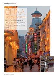 CHINA - Großes Potenzial, rasante Entwicklung Artikel in ...