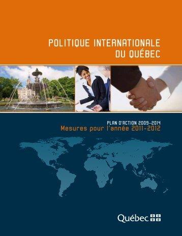 Mesures pour l'année 2011-2012 - Ministère des Relations ...