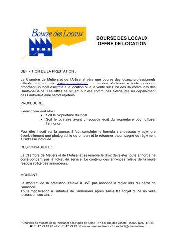 Formulaire declaration albi - Chambre des metiers inscription ...
