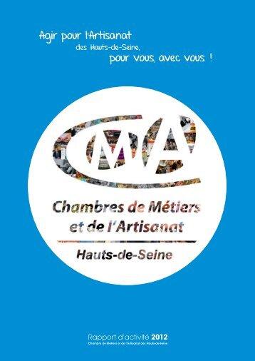 Consulter le rapport d'activité 2012 - Chambre de Métiers et de l ...