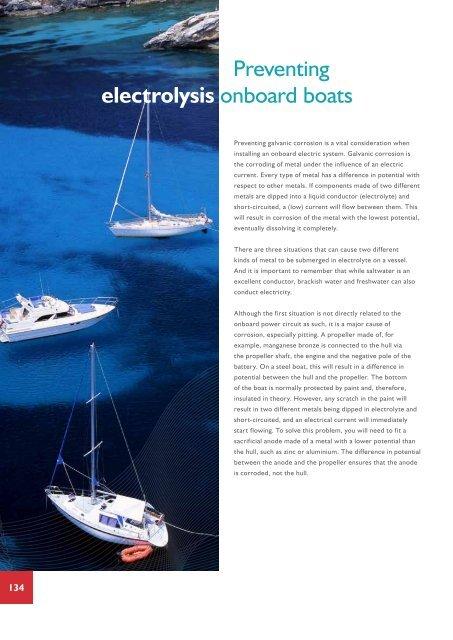 Preventing electrolysis onboard boats - hybridenergy com au