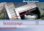 bestattungs kultur - Bundesverband Deutscher Bestatter e.v.