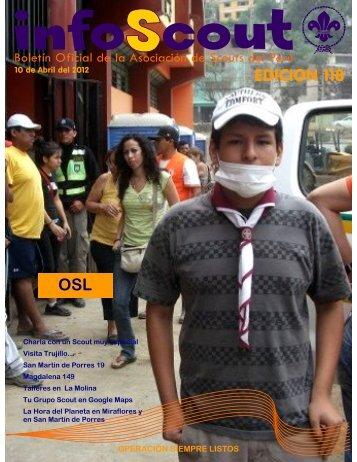 Info SCOUT 118 - Scouts del Perú
