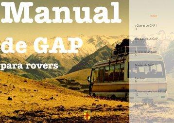 Manual de GAP - Scouts del Perú