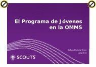 El Programa de Jóvenes en la OMMS