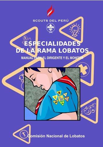 Manual de Especialidades - Scouts del Perú