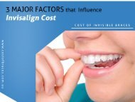 Factors that Influence Invisalign Costs in Sydney