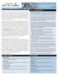 Inhaled steroids summarized - Consumer Reports Online