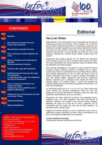 Info SCOUT 51 - Scouts del Perú